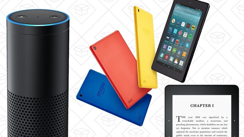 Head Back To School With a Ton of Amazon Device Discounts, Including a Echo For $100