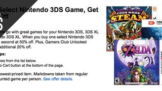 Buy One 3DS Game, Get Another For Half Price
