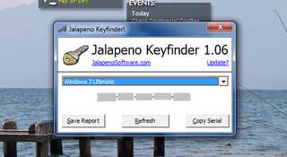Illustration for article titled Jalapeno Keyfinder Retrieves Lost Serial Numbers