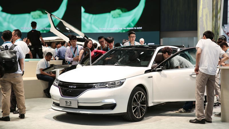 Former Faraday Future Backer Pivots to Zombie Saab
