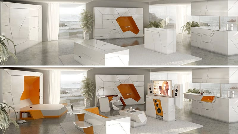 An Entire House Full Of Transforming Furniture Would Be Amazing