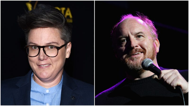 "Illustration for article titled Hannah Gadsby calls Louis CK a ""joke"" who ""still honestly thinks he's the victim"""
