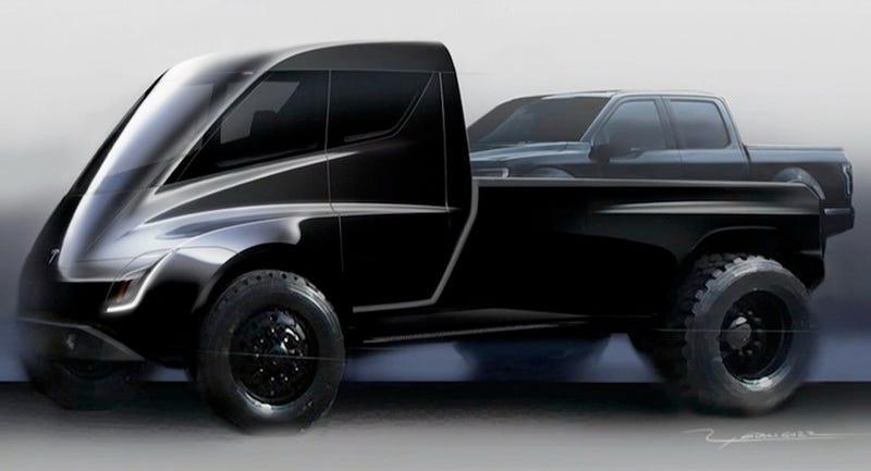 A Elon Musk le encanta la nueva camioneta de Tesla. Pero no está seguro si le gustará a alguien más.