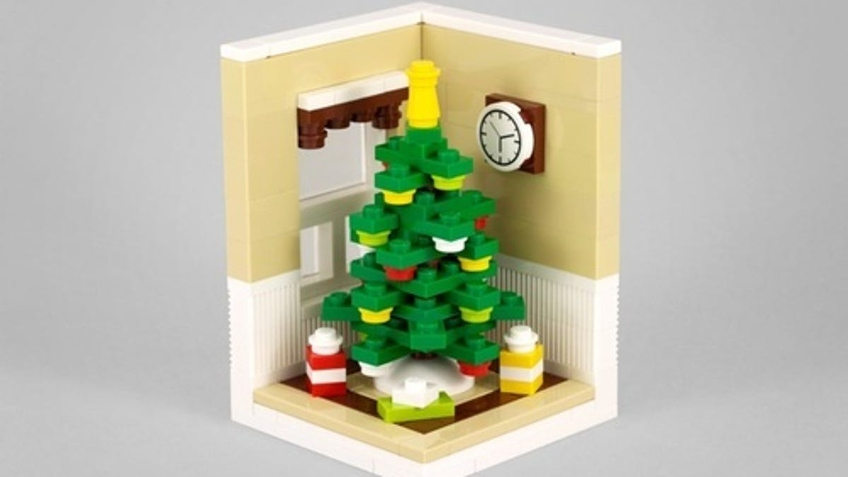 Build A Lego Christmas Tree With Powerpig