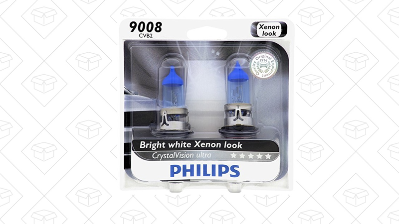 $5 Off Philips CrystalVision Headlights