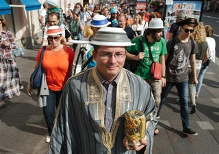 Illustration for article titled Crackdown on 'Pastafarians' Shows Kremlin-Church Ties