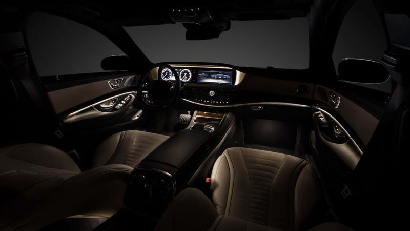 Illustration for article titled The 2014 Mercedes S-Class Offers Cloud-Based Infotainment And Hot Massaging Seats