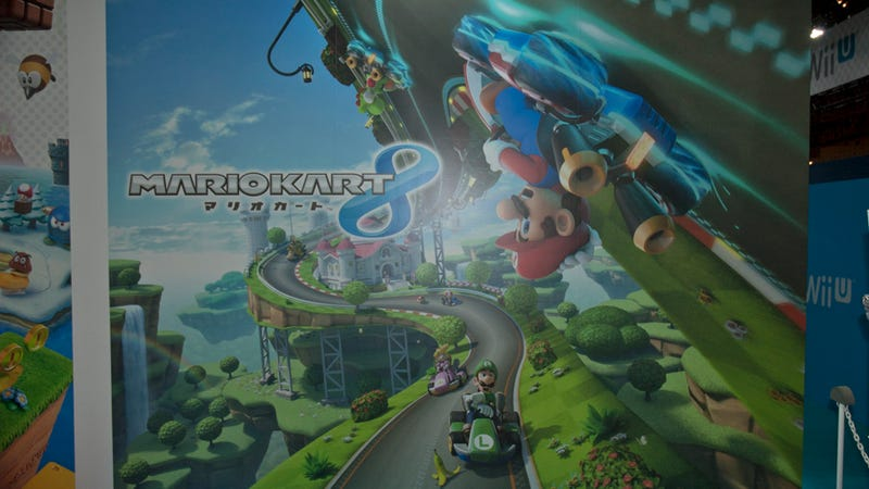 Illustration for article titled Mario Kart 8 Drove Me Up The Walls... In a Good Way