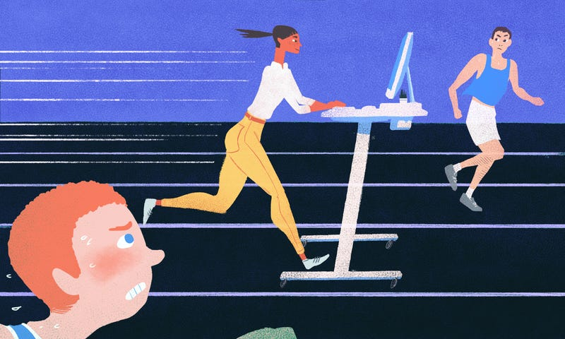 "Illustration for article titled A Standing Desk Makes Me More Productive, Even If It's Not ""Healthier"""