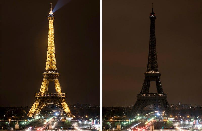 Illustration for article titled Así se verían los principales monumentos del planeta si prescindiéramos de su iluminación artificial