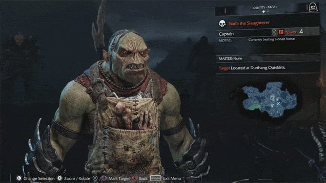 Orc Name Generator Lord Of The Rings