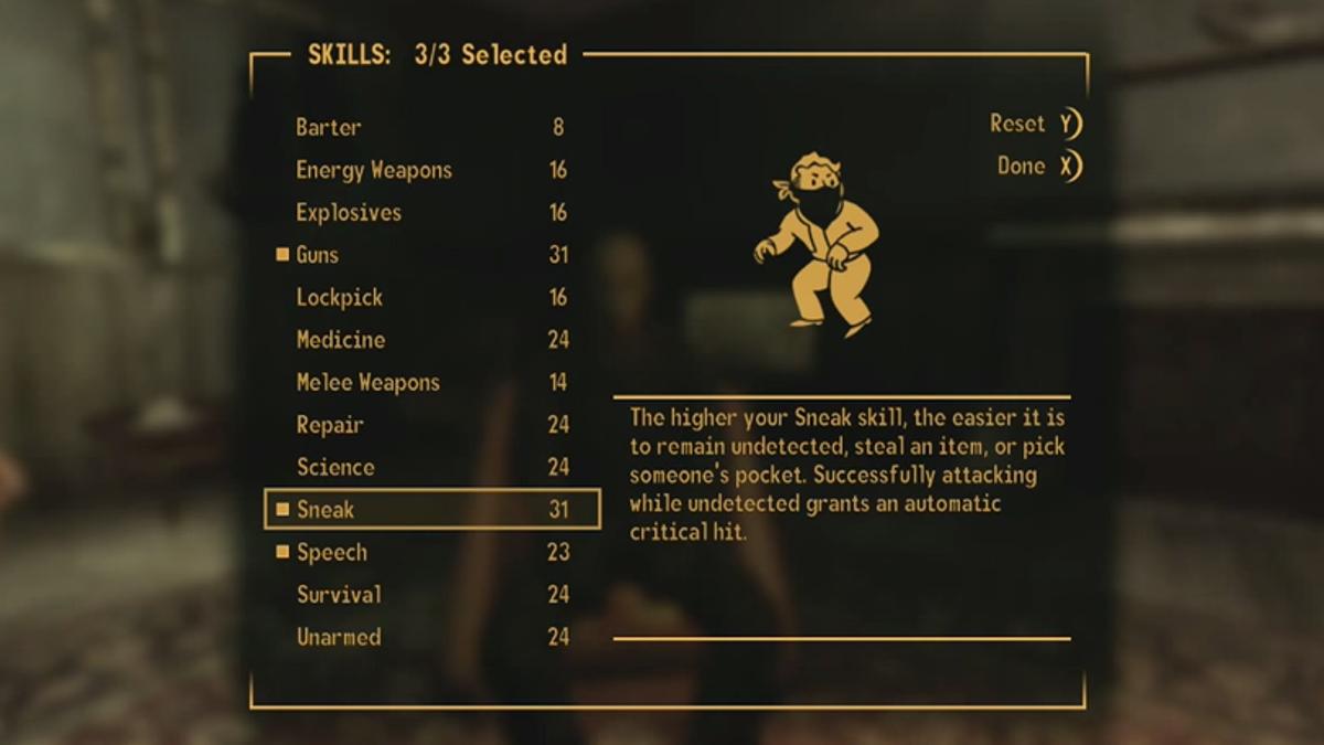 Guy Beats Fallout: New Vegas Without Ever Healing