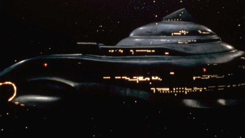 The Titular Nightflyer, as seen in the 1987 movie adaptation of Martin's novella. Image: New Century Vista Film Company