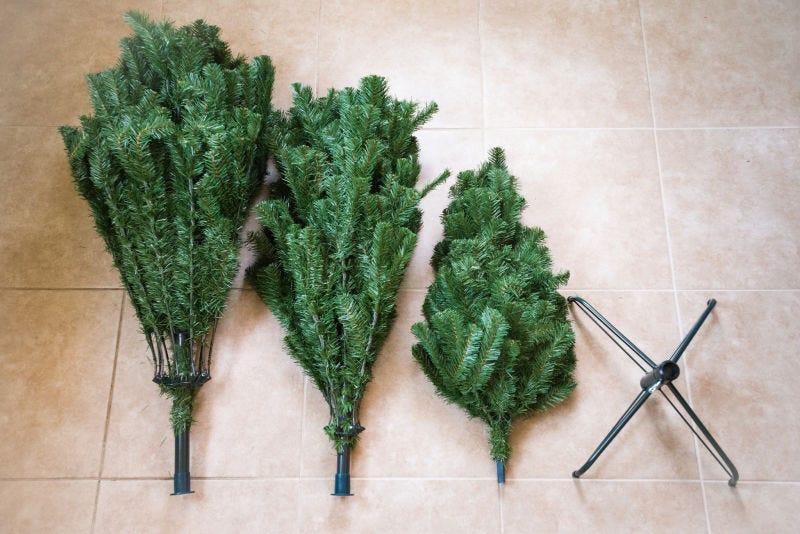 Por qué es mejor comprar un árbol de Navidad real en lugar de uno falso
