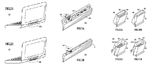 Illustration for article titled Apple Patents Hideable Ports on Notebooks