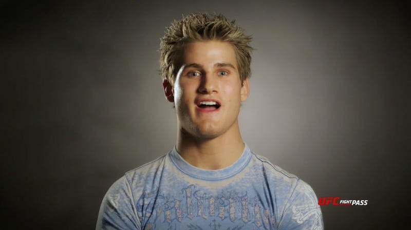 Illustration for article titled UFC Cuts Alarmingly Smiley Action Figure Sage Northcutt