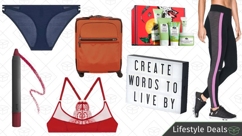 Illustration for article titled Tuesday's Best Lifestyle Deals: Journelle, Sephora, Under Armour, TUMI, and More