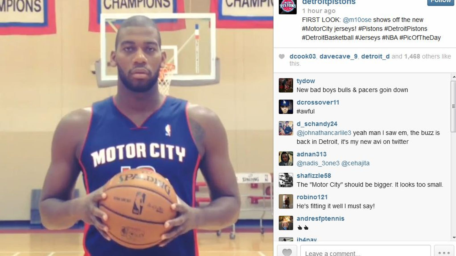 competitive price 19001 64f3c Coming Soon To A B-Dubs Near You, Detroit Pistons' Motor ...