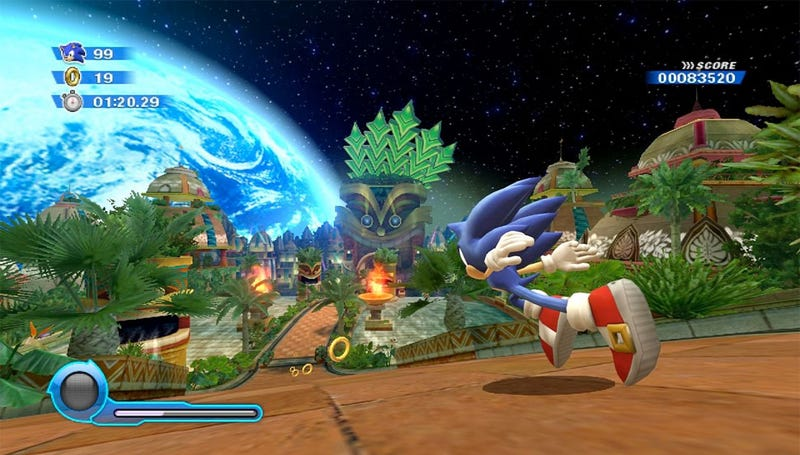 Illustration for article titled Review: Sonic Colors Does Not Suck, It Merely Succeeds