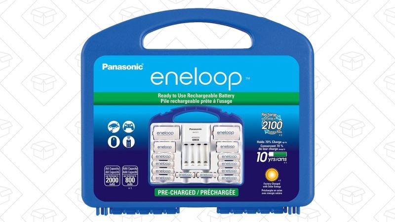 Eneloop Power Pack | $31 | AmazonGráfico: Shep McAllister