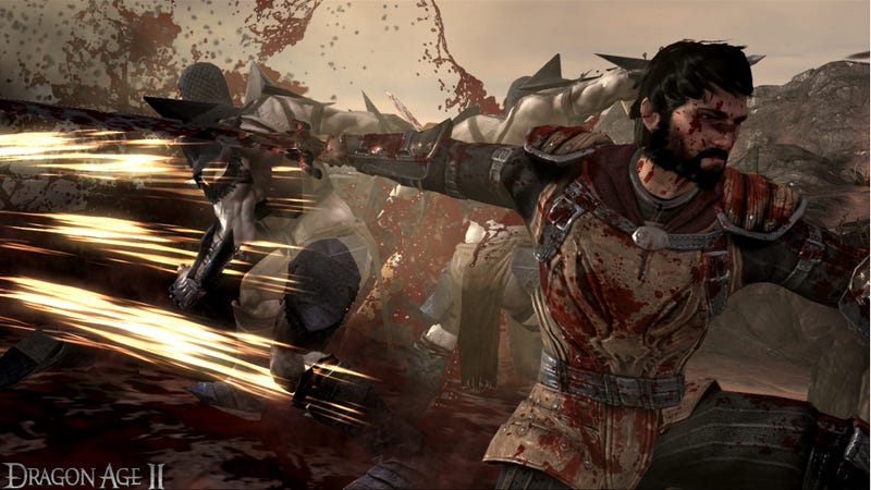 Illustration for article titled Hands-On With The Faster, More Brutal Dragon Age II