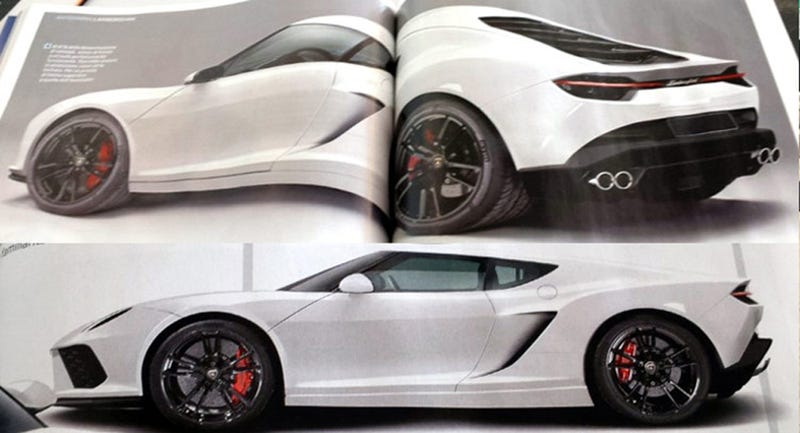 Illustration for article titled The Best Look At The 900 HP Hybrid Lamborghini Asterion Yet