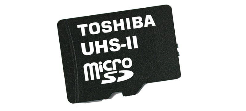 Illustration for article titled This Is the World's Fastest MicroSD Card (For Now)