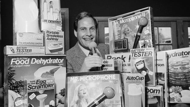 Ron Popeil, Iconic TV Gadget Man, Dies at 86