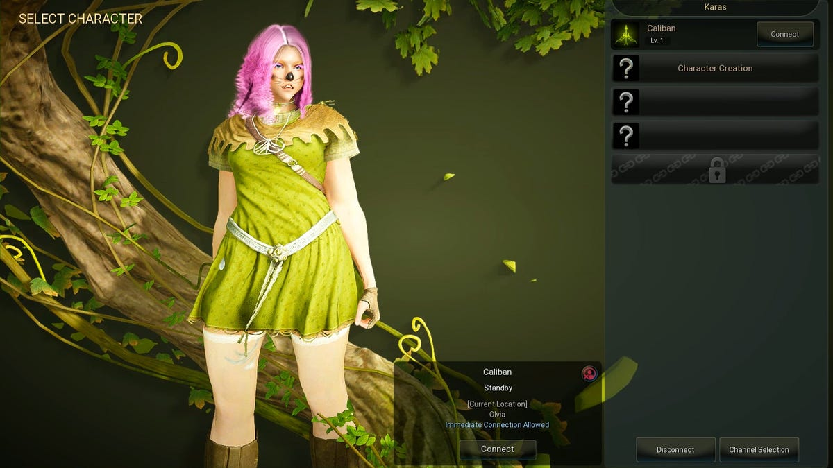 Creating A Character In Black Desert Online Is An Epic