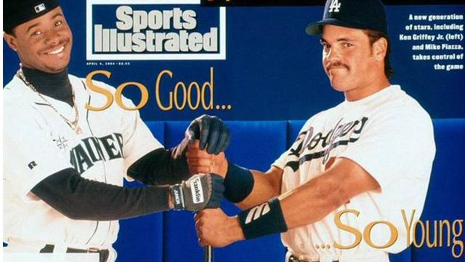 8ed3b84a8c Watch Ken Griffey Jr. And Mike Piazza Learn They Made The Hall Of Fame