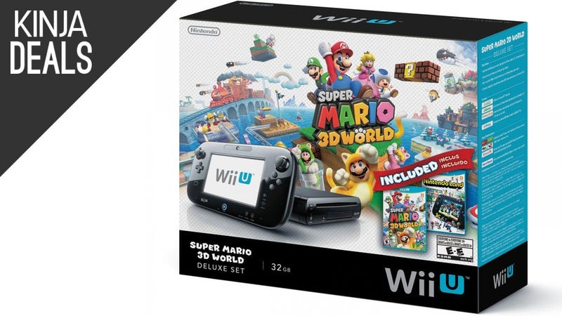 Illustration for article titled This Wii U Deluxe Bundle Just Dropped an Extra $10