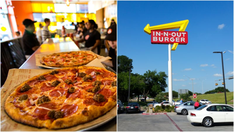 Illustration for article titled Survey says: Americans are hot on Blaze Pizza and In-N-Out, cool on McDonald's