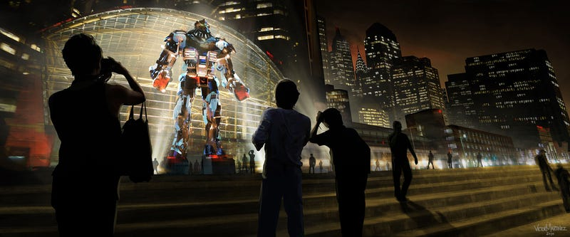 Illustration for article titled Designing a World of Robot Fighters: the Concept Art of Real Steel