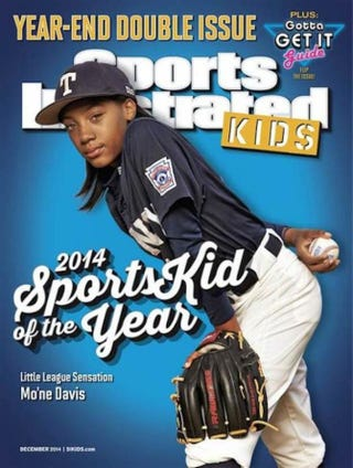 Sports Illustrated Kids cover featuring Mo'ne DavisSports Illustrated Kids