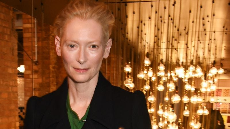Only Tilda Swinton could truly capture all our majesties. (Photo: Getty Images)
