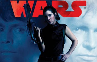 Illustration for article titled Princess Leia stands alone in this new Star Wars novel