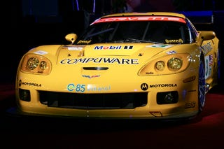 Illustration for article titled Detroit Auto Show: Chevy Releases E85 Powered Corvette for ALMS, Spotted Owls Rejoice