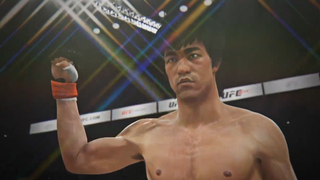 Illustration for article titled Putting Bruce Lee Against Real UFC Fighters Is Kinda Creepy, Guys
