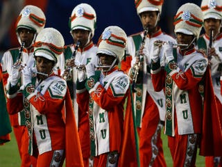 Florida A&M University's famed marching band
