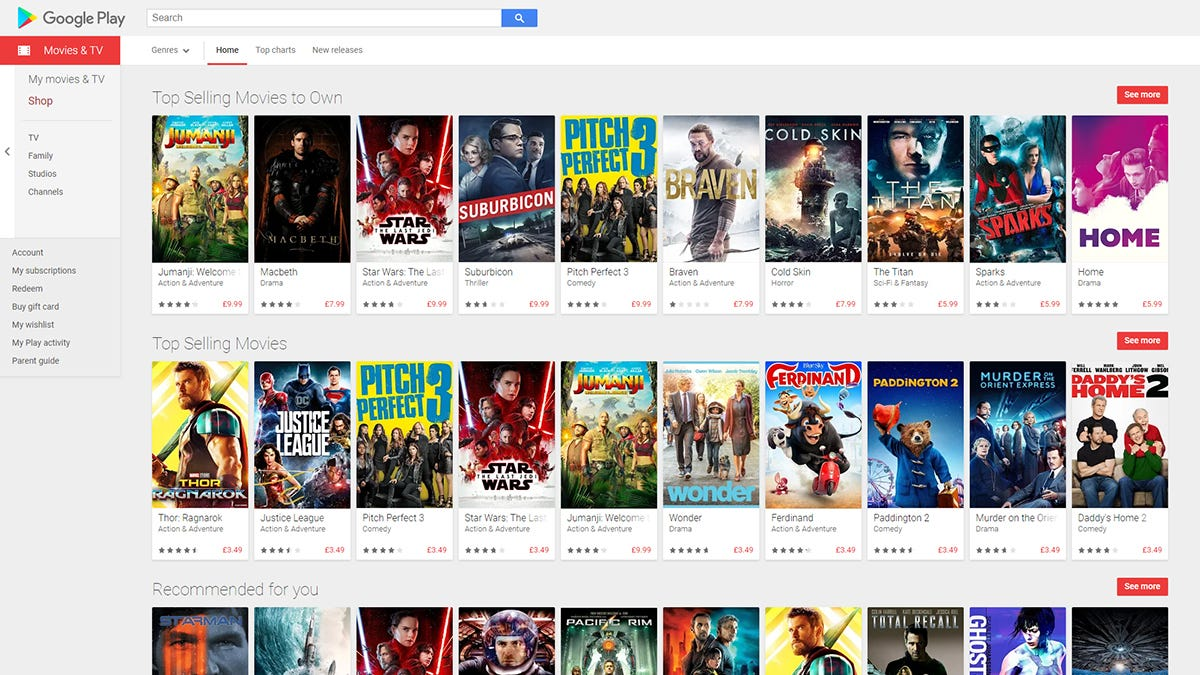 How to Choose Between iTunes and Google Play Movies & TV