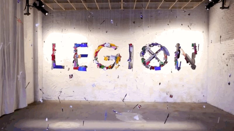 This Legion Art Installation Will Blow Your Damned Mind