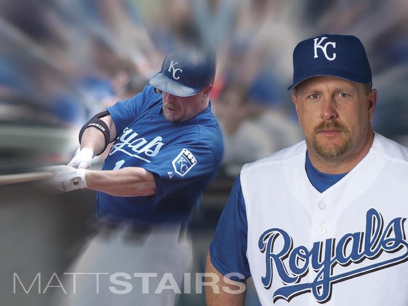 Illustration for article titled Matt Stairs Is The Once-Overweight Canadian Jim Thorpe