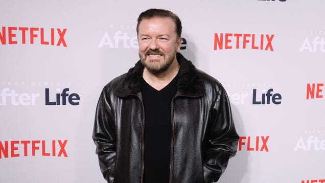 Ricky Gervais will host the Golden Globes… again