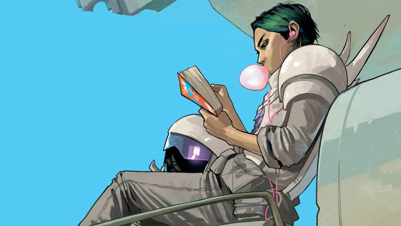 Illustration for article titled You can't read Brian K. Vaughan's Saga on your iOS device because gay sex