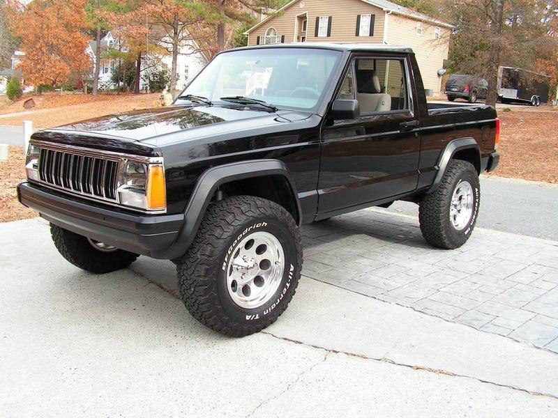 Para Esse Fim, Vamos Começar A Nova Semana Com Um Caminhão Personalizado  Que Aparentemente Teve Todo O Trabalho Já Feito. Este 1 994 Jeep Cherokee  Sport Foi ...