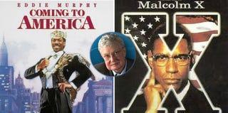 Coming to America (Paramount); Roger Ebert (rogerebert.com); Malcolm X (Warner Bros.)