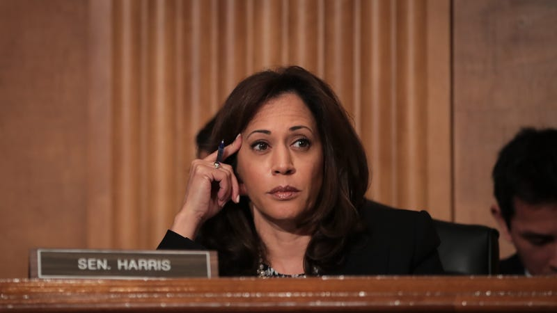 Sen. Kamala Harris, currently not having any of it (Drew Angerer/Getty Images)
