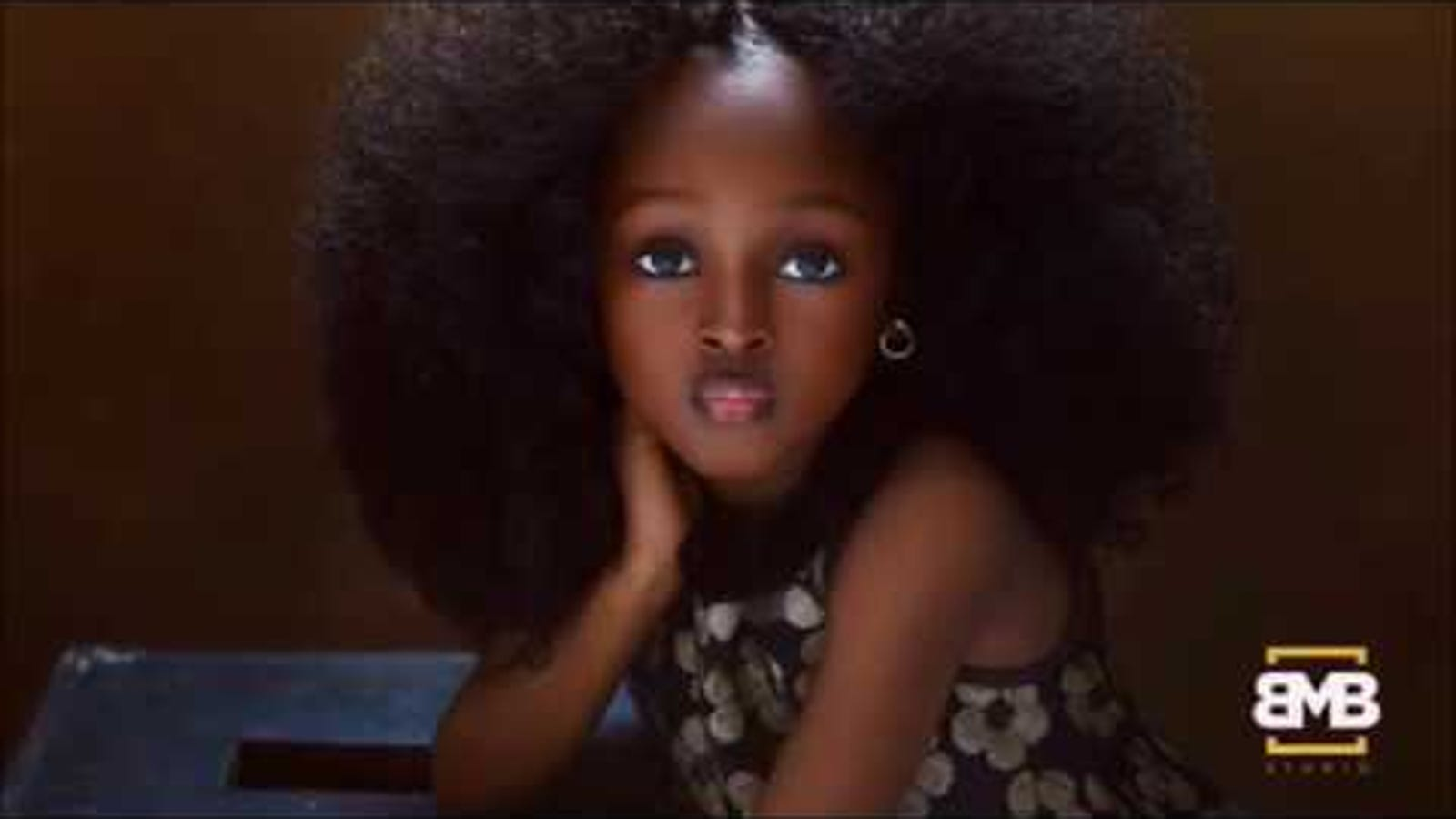 Could She Be The Most Beautiful Girl In The World A 5 Year Old Nigerian Girl Is Making Headlines
