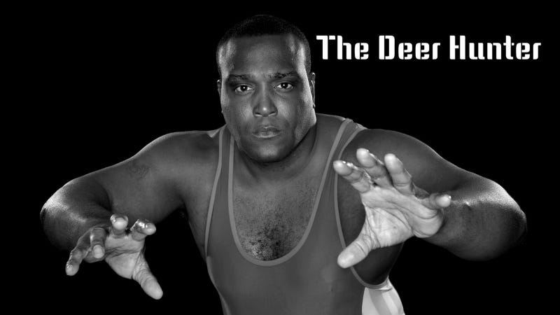 Illustration for article titled Olympic Wrestler Faces Charges For Shooting Deer At Car Dealership