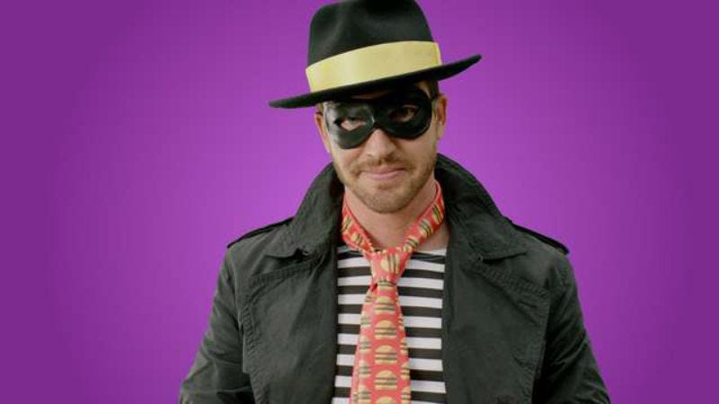 The original Hamburglar first appeared in commercials in 1971. Now there's this guy.